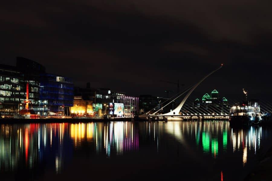 Dublin Samuel Beckett bridge