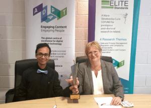 ELITE-S fellow receives NSAI Standards Award